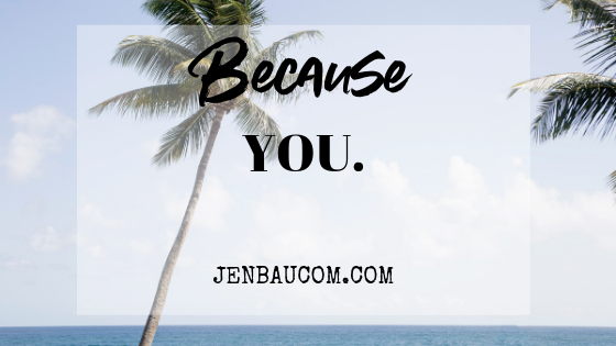 You are important. Want a Confidence boost? read Because you. mindset fitness confidence