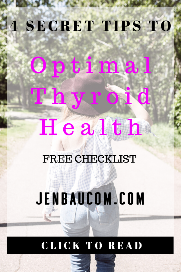 4 tips to optimal thyroid health and to manage thyroid disease and hypothyroidism #hypothyroidism #thyroidhealth #thyroiddisease