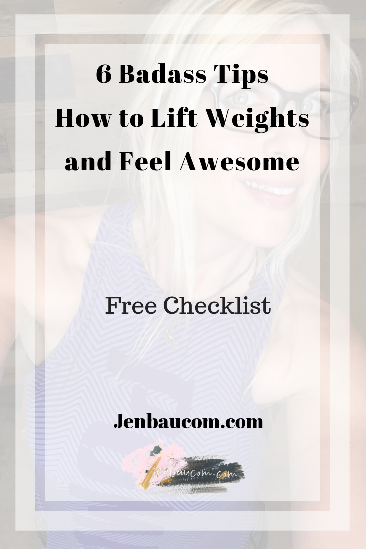 6 badass tips how to lift weights and feel awesome. weight training, lifting, strength train, thyroid, lift heavy