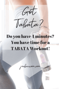 Find out more on Tabata workouts and why they are so effective for you for weight loss. check out jenbaucom.com for mindset fitness hypothyroid tips and hormone balance
