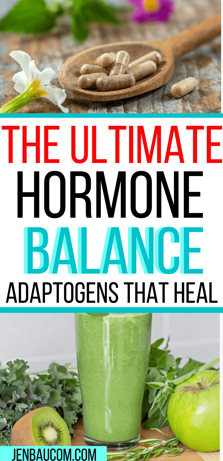 The Ultimate Hormone Balance Adaptogens that Heal #adaptogens #thyroid #hypothyroidism #hormonebalance