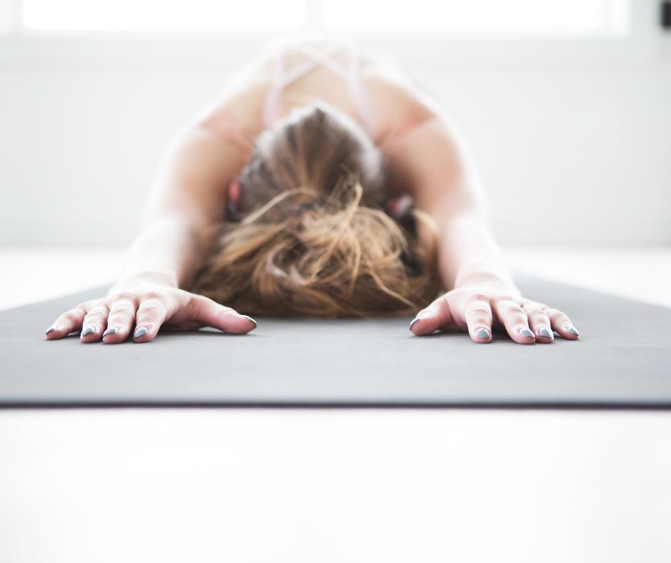 Yoga is great for your thyroid and optimal health. #thyroid #yoga #hypothyroidism #yogaforthyroid