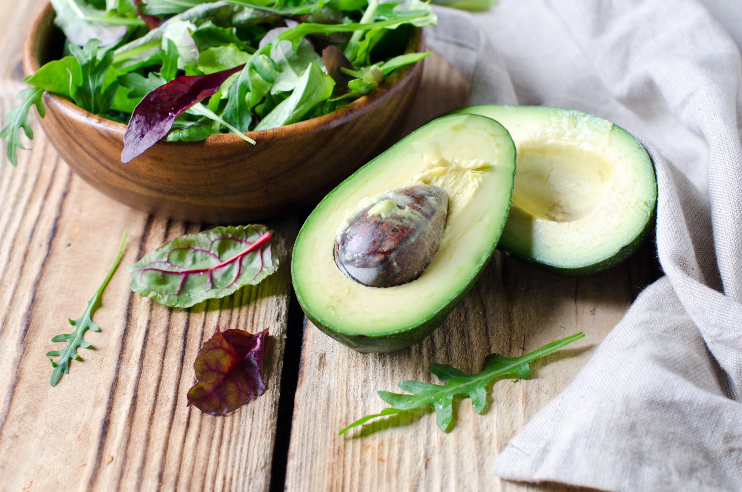 Healthy Fats like Avocados are beneficial for thyroid function. Check out all the best foods here at jenbaucom.com/best-thyroid-foods/