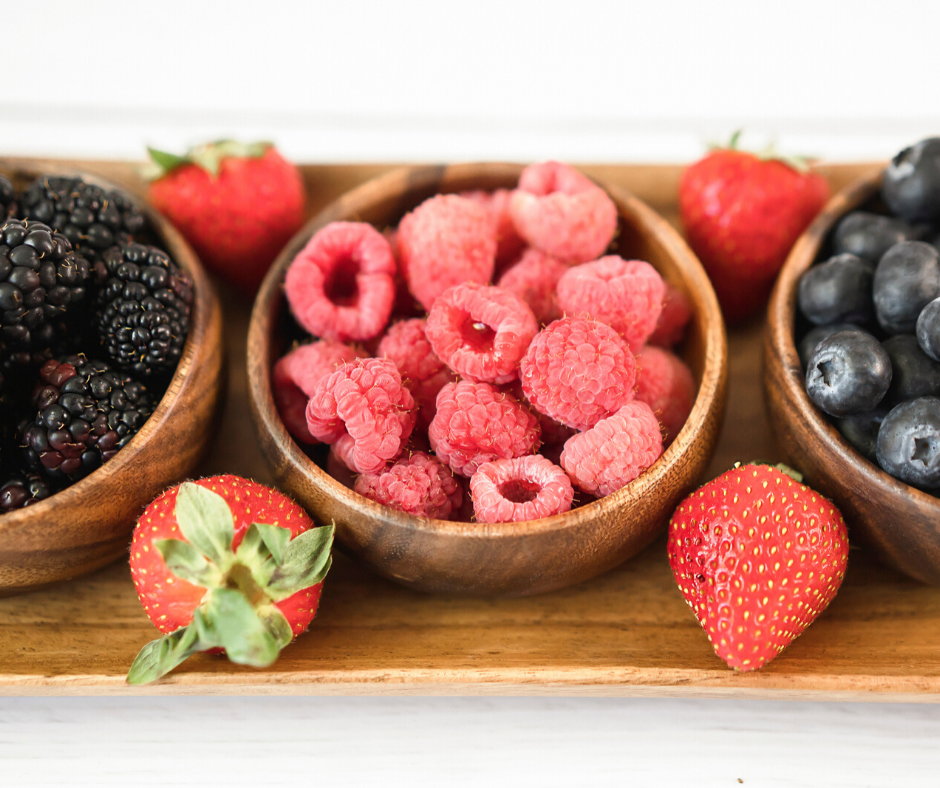 one of the best thyroid foods includes berries. check it out at jenbaucom.com #berries #thyroidfoods
