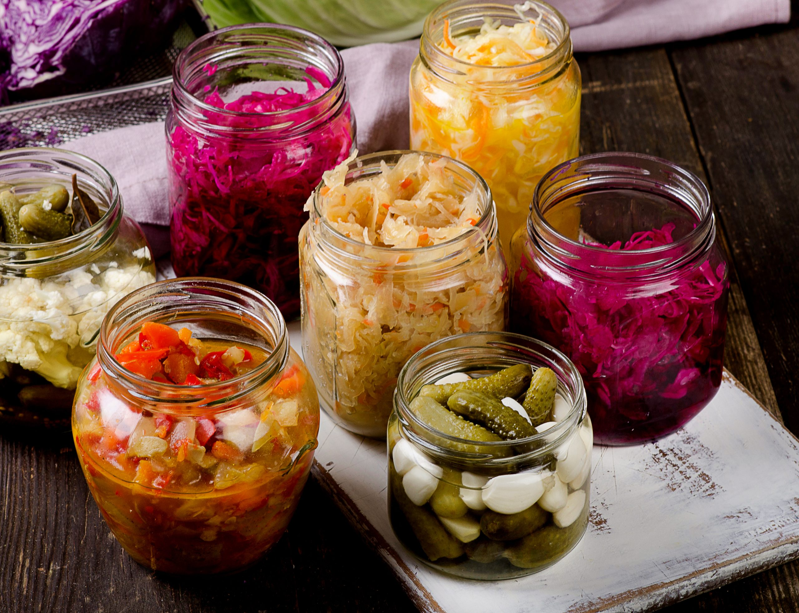 Fermented Vegetables are awesome for your thyroid