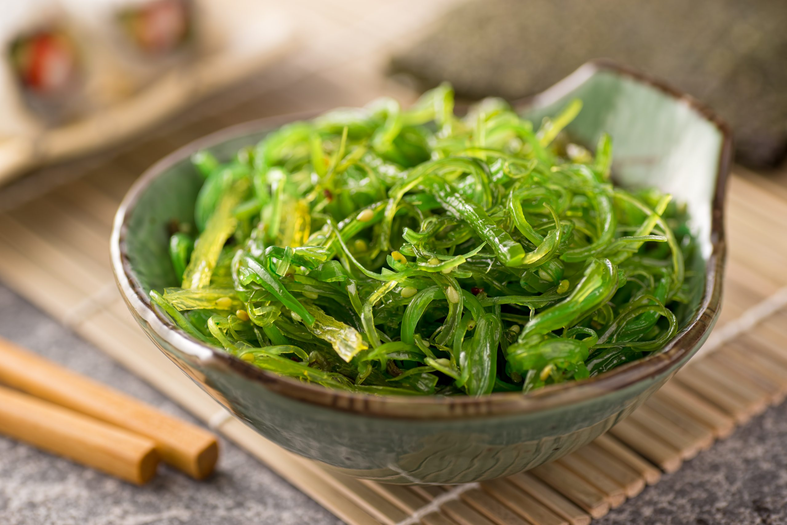 Sea Vegetables and Seaweed is wonderful for your thyroid! See more at jenbaucom.com #seaweed #thyroidhealth #seavegetables