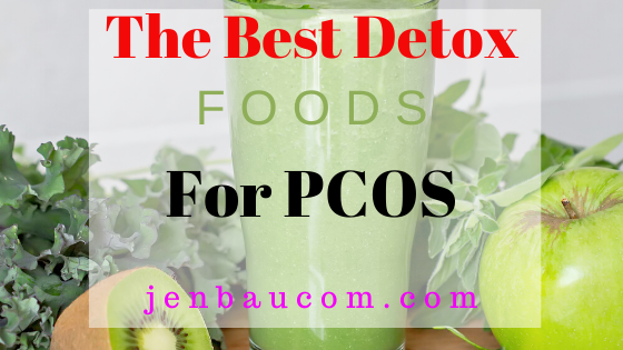 The Best Detox Foods for PCOS #pcosfoods #pcos