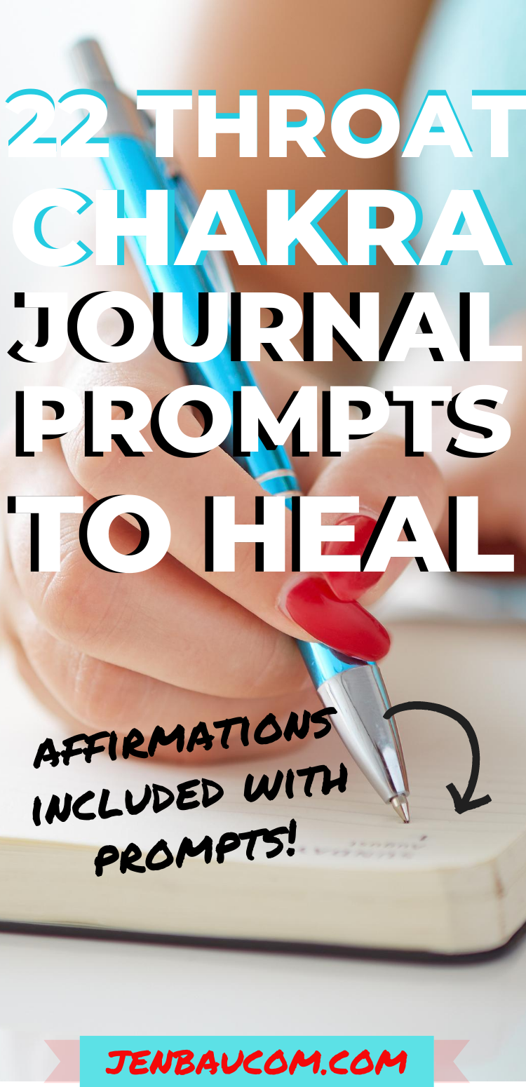 22 Throat Chakra Journal Prompts to Heal