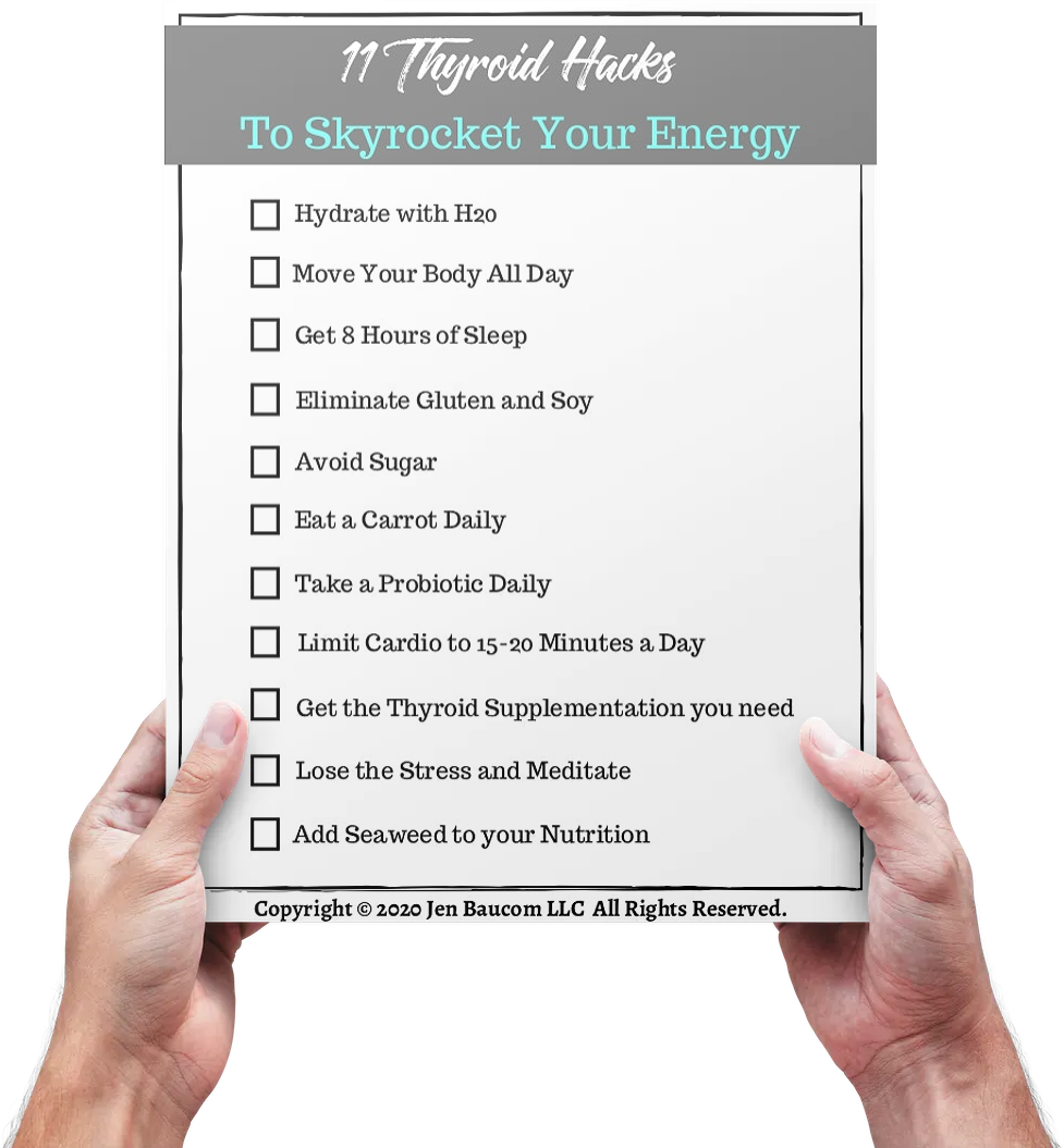 11 Thyroid Hacks to Skyrocket your Energy!